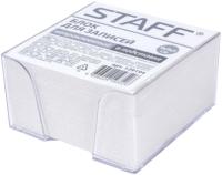 Блок для записей Staff 129194 (белый) -