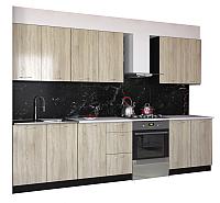 Готовая кухня Артём-Мебель Оля 2.2 ДСП (дуб сонома) -