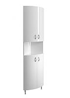 Шкаф для ванной Belux Микро ПУ37 (1, белый глянец) -