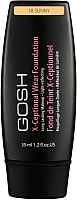 Тональный крем GOSH Copenhagen X-Ceptional Wear Make-Up 18 Sunny (35мл) -