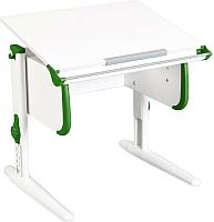 Парта Дэми СУТ.24 (белый/зеленый) -