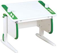 Парта Дэми СУТ 26 (белый/зеленый) -