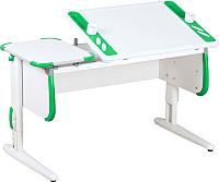 Парта Дэми СУТ 31 (белый/зеленый) -