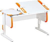 Парта Дэми СУТ 31 (белый/оранжевый) -