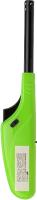 Пьезоэлектрическая газовая зажигалка СОКОЛ СК-306 / 61-0969 (зеленый) -
