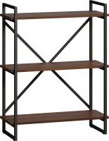 Стеллаж Loftyhome Бервин Рант 80 / 1627331 (коричневый) -