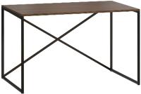Письменный стол Loftyhome Бервин Кросс / 515999 (коричневый) -