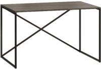Письменный стол Loftyhome Бервин Кросс / 516002 (серый) -