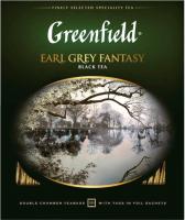 Чай пакетированный GREENFIELD Earl Grey Fantasy черный / Nd-00001695 (100пак) -