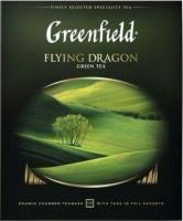 Чай пакетированный GREENFIELD Flying Dragon зеленый / Nd-00001696 (100пак) -