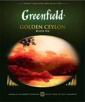 Чай пакетированный GREENFIELD Golden Ceylon черный / Nd-00001694 (100пак) -