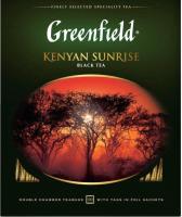 Чай пакетированный GREENFIELD Kenyan Sunrise черный / Nd-00001703 (100пак) -