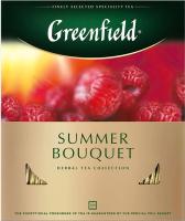 Чай пакетированный GREENFIELD Summer Bouguet травяной / Nd-00001841 (100пак) -