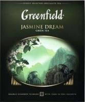 Чай пакетированный GREENFIELD Jasmin Dream зеленый / Nd-00014690 (100пак) -