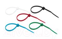 Стяжка для кабеля Rexant 07-0088-25 (25шт, разноцветный) -