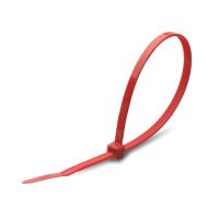 Стяжка для кабеля Rexant 07-0206-25 (25шт, красный) -