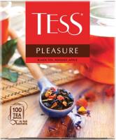 Чай пакетированный Tess Pleasure черный / Nd-00001851 (100пак) -