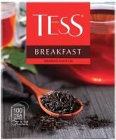 Чай пакетированный Tess Breakfast черный / Nd-00014719 (100пак) -