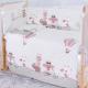 Комплект в кроватку Баю-Бай Раздолье К80-Р1 (розовый) -