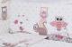 Комплект постельный в кроватку Баю-Бай Раздолье К31-Р1 (розовый) -