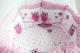 Комплект в кроватку Баю-Бай Раздолье К91-Р1 (розовый) -