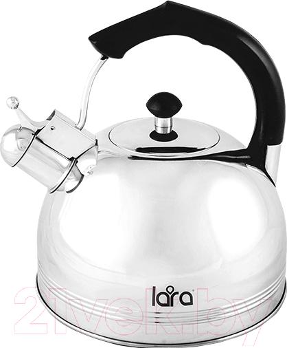 Купить Чайник со свистком Lara, LR00-06, Китай, черный