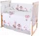 Пододеяльник детский Баю-Бай Раздолье ПД11-Р1 (розовый) -