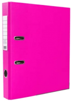 Папка-регистратор Комус OfficeStyle / 1144787 (светло-розовый) -