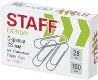 Скрепки Staff Everyday / 220012 (100шт) -