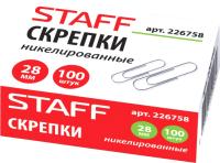 Скрепки Staff Everyday / 226758 (100шт) -