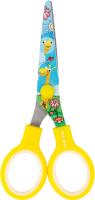 Ножницы канцелярские Brauberg Kid Series Жирафы / 232269 (желтый) -