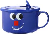 Чаша бульонная Miniso Fruity Fair / 9350 (синий) -