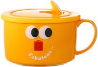 Чаша бульонная Miniso Fruity Fair / 9343 (желтый) -