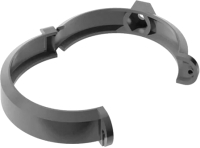 Хомут Технониколь ПВХ Универсальный 425866 (140 мм, серый) -