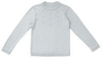 Кофта детская Amarobaby Pure Love School / AB-OD21-PLS2102/11-122 (серый, р. 122) -