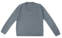 Кофта детская Amarobaby Pure Love School / AB-OD21-PLS2101/11-122 (серый, р. 122) -