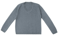 Кофта детская Amarobaby Pure Love School / AB-OD21-PLS2101/11-128 (серый, р. 128) -