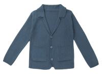 Жакет детский Amarobaby Pure Love School / AB-OD21-PLS2001/11-134 (серый, р-р 128-134) -