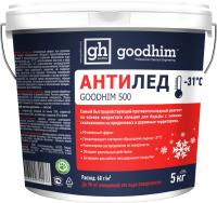 Противогололедный реагент GoodHim 500 № 31 / 40276 (5кг, ведро) -