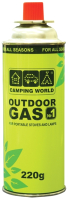 Газовый баллон туристический Camping World 381872 (220г) -