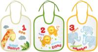 Набор нагрудников детских Lorelli 10260090000 (3шт) -