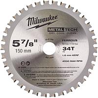 Пильный диск Milwaukee 48404080 -