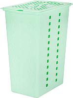 Корзина для белья Альтернатива Виолетта / М1967 (30л, зеленый) -