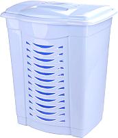 Корзина для белья Альтернатива М1545 (60л, голубой) -