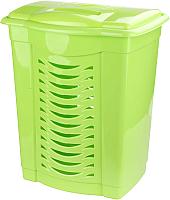 Корзина для белья Альтернатива М1545 (60л, зеленый) -