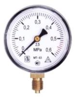 Манометр сантехнический Багория МТ-63 0.6 МПа 40/4 -