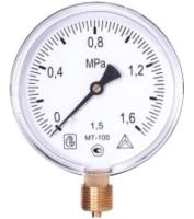 Манометр сантехнический Багория МТ-100 0-0.4 МПа 40/2 -