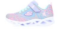 Кроссовки детские Skechers 302305L-SMLT / Z68OQLEFHO (р.13.5, серебристый/мультицвет) -