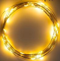 Светодиодная гирлянда Luazon Нить Rosa 5198306 (теплый белый) -