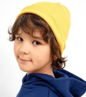 Шапка детская Mark Formelle 227006 (р.52, желтый) -